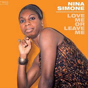 SIMONE NINA – LOVE ME OR LEAVE ME (LP)