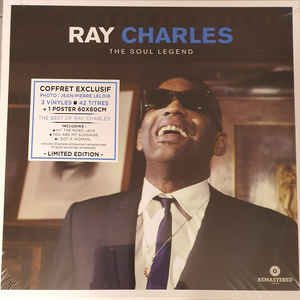 RAY CHARLES – THE SOUL LEGEND (3xLP)