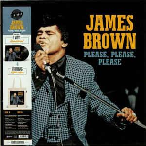 JAMES BROWN – PLEASE PLEASE PLEASE (LP+BAG)