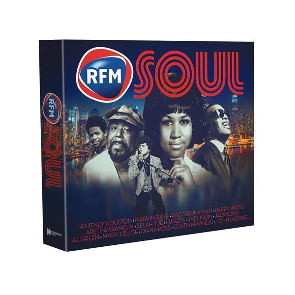 VARIOUS ARTISTS – RFM SOUL (5xCD)