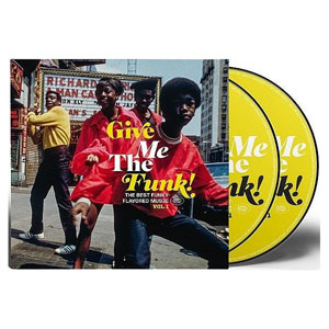 VARIOUS ARTISTS – GIVE ME THE FUNK! (2xCD)