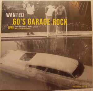 WANTED 60'S GARAGE – WANTED 60'S GARAGE (LP)