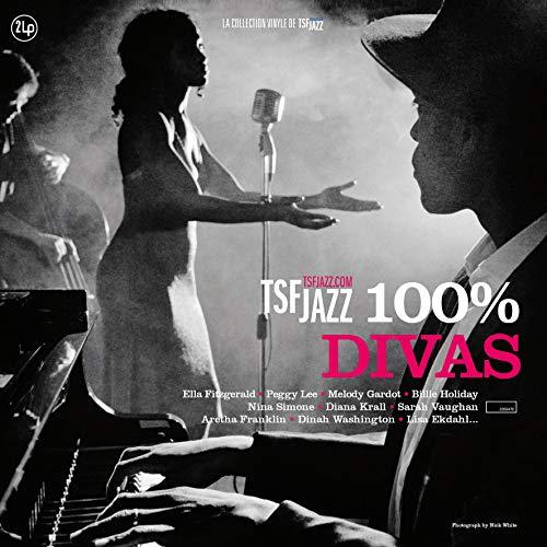 VARIOUS ARTISTS – TSF JAZZ – 100% DIVAS (2xLP)