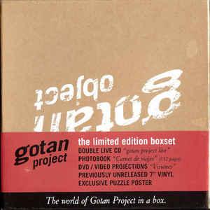 GOTAN PROJECT – LIVE OBJECT BOX (4xCD)
