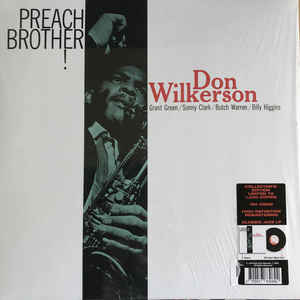 WILKERSON, DON – PREACH BROTHER! (LP)