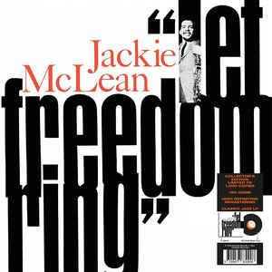 MCLEAN, JACKIE – LET FREEDOM RING (LP)