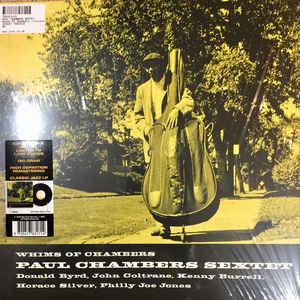 CHAMBERS, PAUL – WHIMS OF CHAMBERS (LP)