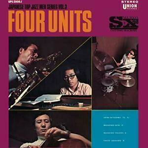 FOUR UNITS – JAPANESE JAZZ MEN SERIES VOL.3 (LP)