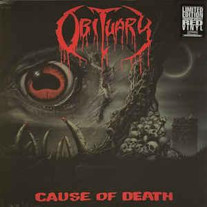 OBITUARY – CAUSE OF DEATH (LP)
