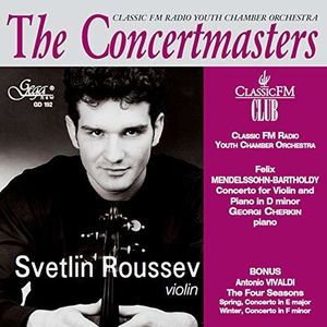 ROUSSEV, SVETLIN – THE CONCERTMASTERS (CD)