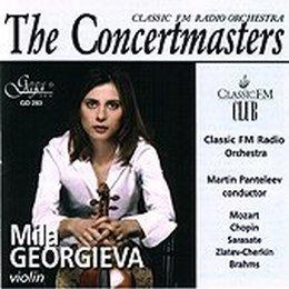 GEORGIEVA, MILA – THE CONCERTMASTERS (CD)