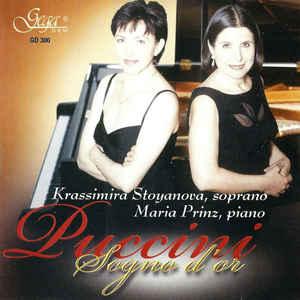 STOYANOVA, KRASSIMIRA; PRINZ, MARIA – SONGS BY PUCCINI (CD)