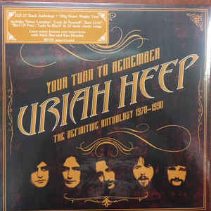 URIAH HEEP – YOUR TURN TO REMEMBER: THE DEFINITIVE ANTHOLOGY 1970-1990 (2xLP)