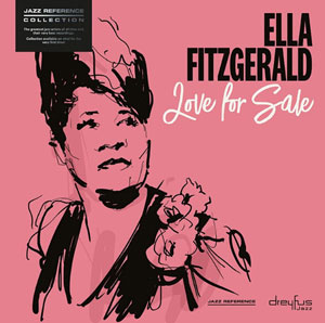 FITZGERALD, ELLA – LOVE FOR SALE (LP)