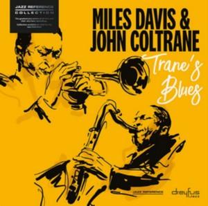 DAVIS, MILES & JOHN COLTR – TRANE'S BLUES (LP)