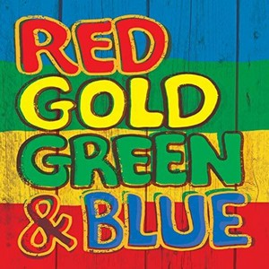 VARIOUS ARTISTS – RED GOLD GREEN & BLUE (2xLP)