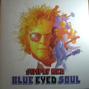 SIMPLY RED – BLUE EYED SOUL (LP)