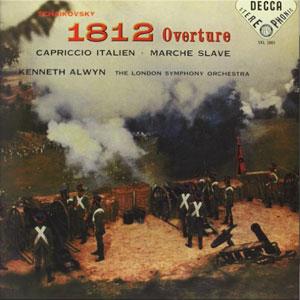 TCHAIKOVSKY: 1812 OVERTURE –  (LP)