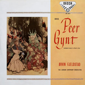 GRIEG: PEER GYNT –  (LP)