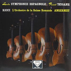 LALO/RAVEL SYMPHONE ESPAGNOL/..-180G LP SP-CO  –  (LP)