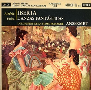 ALBENIZ/TURINA – IBERIA/TURINA: DANZAS FANTASTICAS (LP)