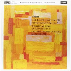 MOZART, W.A. – EINE KLEINE NACHTM.-180GR (LP)