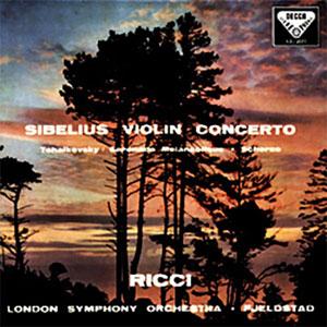 SIBELIUS: VIOLIN CONCERTO / TCHAIKOVSKY: SÉRÉNADE MÉLANCOLIQUE –  (LP)