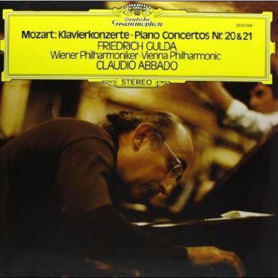 MOZART –  CONCERTOS FOR PIANO AND ORCHESTRA NOS. 20 & 21 (LP)