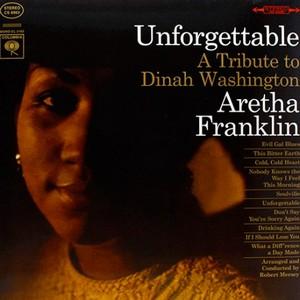 FRANKLIN, ARETHA – UNFORGETTABLE (LP)