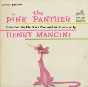 HENRY MANCINI: THE PINK PANTHER –  (LP)