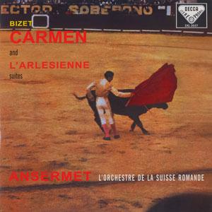 BIZET: CARMEN AND L'ARLÉSIENNE SUITES –  (LP)