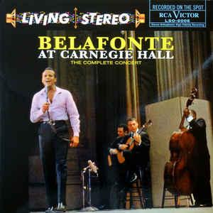 HARRY BELAFONTE –  BELAFONTE AT CARNEGIE HALL (2xLP)