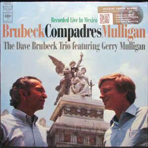 DAVE BRUBECK & GERRY MULLIGAN: COMPADRES –  (LP)