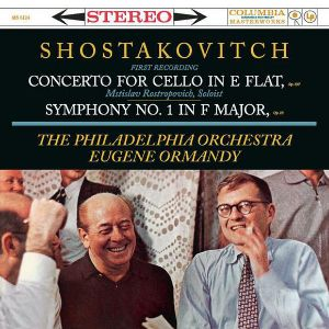 SHOSTAKOVITCH: CELLO CONCERTO, SYMPHONY NO. 1 –  (LP)