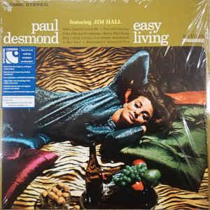 PAUL DESMOND: EASY LIVING –  (LP)