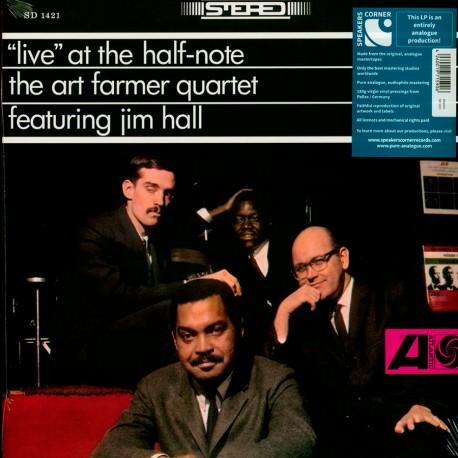 ART FARMER QUARTET – LIVE AT THE HALF-NOTE (LP)