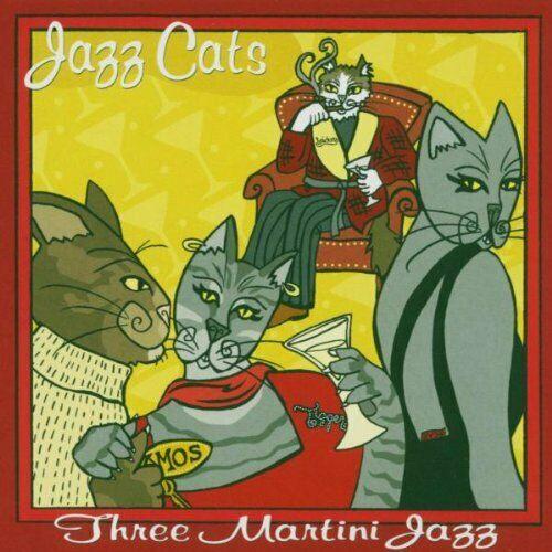 VARIOUS ARTISTS – JAZZ CATS THREE MARTINI JAZZ CD JC 808 –  (CD)