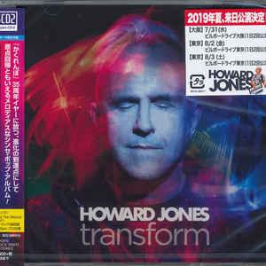 JONES, HOWARD – TRANSFORM (CD)