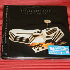 ARCTIC MONKEYS – TRANQUILITY BASE HOTEL & CASINO (CD)