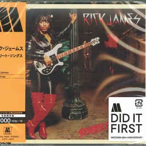 JAMES, RICK – STREET SONGS (CD)