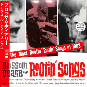 DEARIE, BLOSSOM – MOST ROTIN TOOTIN SONGS OF 1963 (LP)