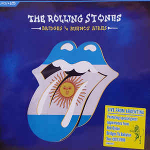THE ROLLING STONES – BRIDGES TO BUENOS AIRES (3xBlu-ray/CD)