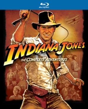 MOVIE – INDIANA JONES QUADRILOGY (5xBLRY)