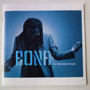 BONA, RICHARD TEN SHADES OF BLUES CD WRASS  –  (CD)