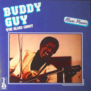 BUDDY GUY –  THE BLUES GIANT (LP)