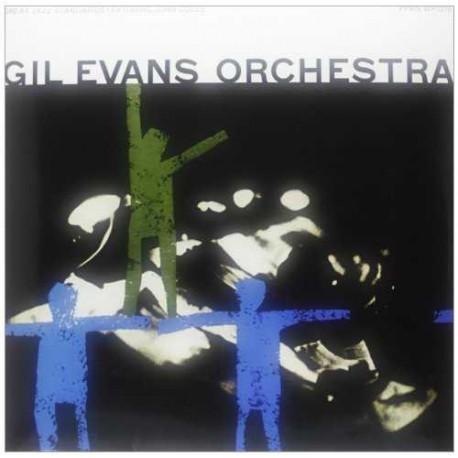GIL EVANS ORCHESTRA: GREAT JAZZ STANDARDS –  (LP)