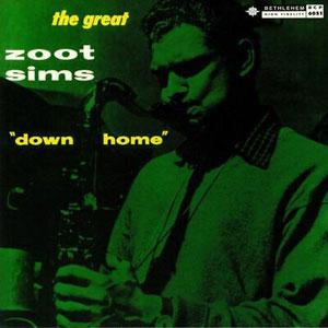 ZOOT SIMS: DOWN HOME –  (LP)