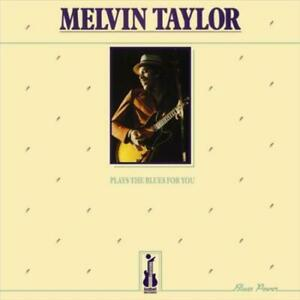 TAYLOR, MELVIN – PLAYS THE BLUES FOR YOU (LP)