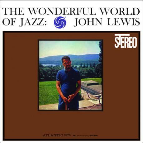 LEWIS, JOHN – WONDERFUL WORLD OF JAZZ (LP)