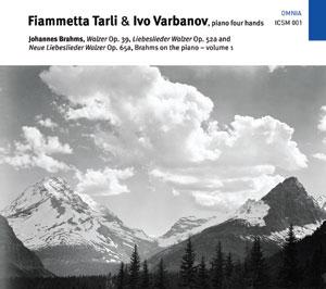 BRAHMS/ TARLI, VARBANOV – BRAHMS ON THE PIANO VOL.1 – WALTZES (CD)